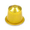 Nespresso aluminium (gold)
