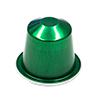 Nespresso aluminium (green)